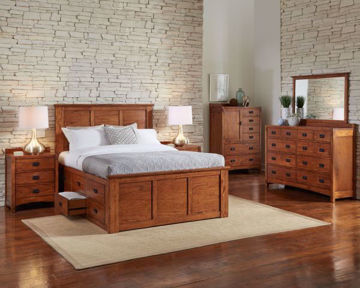 Picture of Mission Hill King Storage Bed
