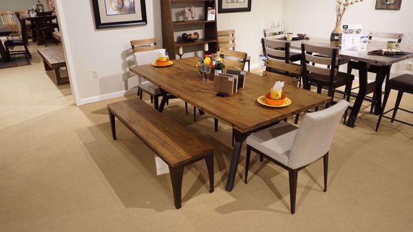 Picture of Southcross Table with 4 Chairs and Bench