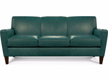 Leather Sofa by Colorado Casual