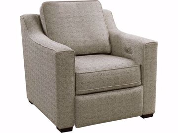 Picture of Harmony Quentin Chair with Power Ottoman
