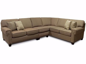 Picture of Yonts Sectional with Nails