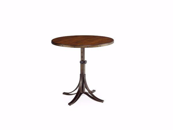 Picture of Mercantile Round Adjustable Accent Table