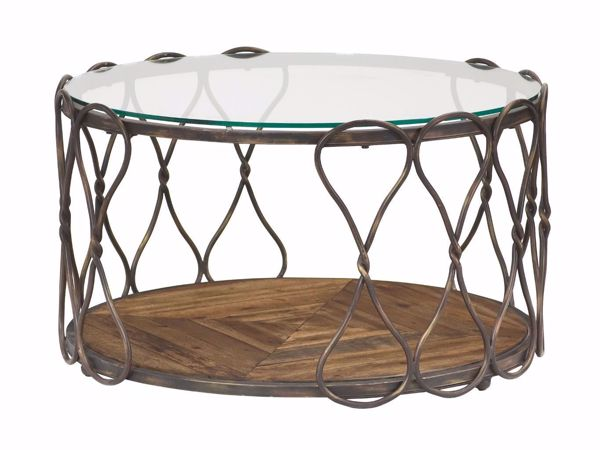 Picture of Hidden Treasures Round Cocktail Table