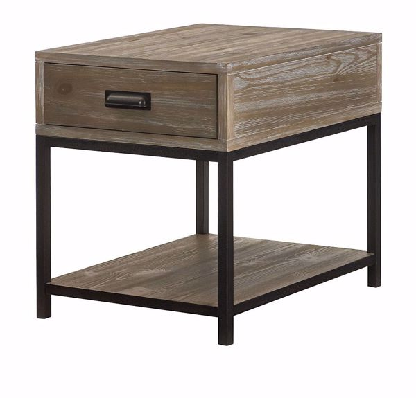 Picture of Parsons Rectangular Drawer End Table