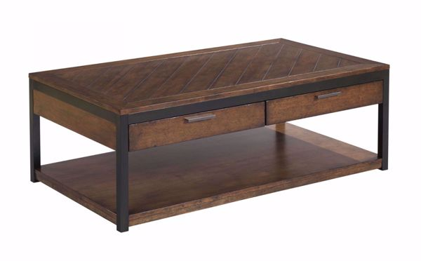 Picture of Franklin Rectangular Cocktail Table