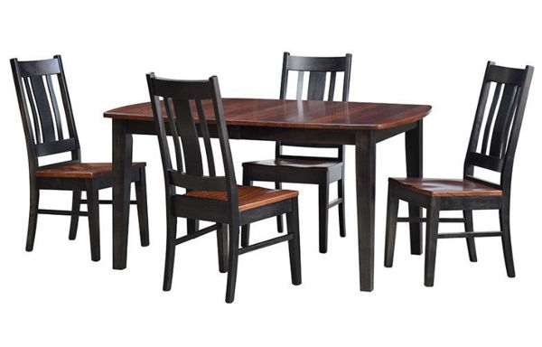 Picture of Premier Elm Top Amish Dining Set